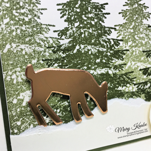 Winter Woods Stamp Set & Detailed Deer Dies