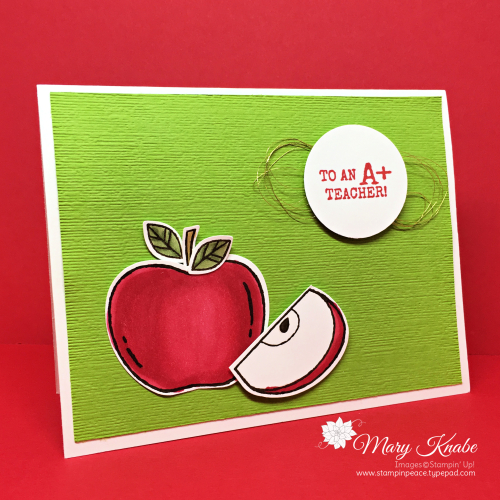 Harvest Hellos Stamp Set, Apple Builder Punch, & Subtle 3-D Embossing Folder  by Stampin' Up!