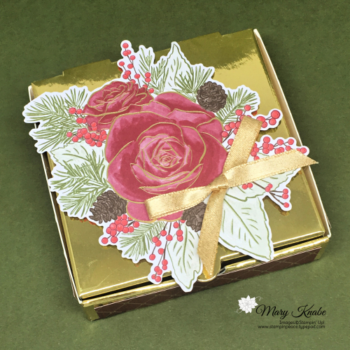 Christmas Time is Here Specialty Designer Series Paper & Roses Dies by Stampin' Up!