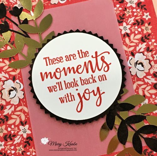 Kerchief Card Kit & Peaceful Moments Stamp Set by Stampin' Up!