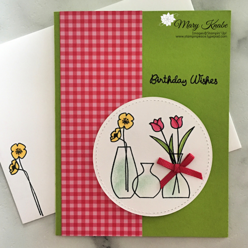 Varied Vases Stamp Set by Stampin' Up!