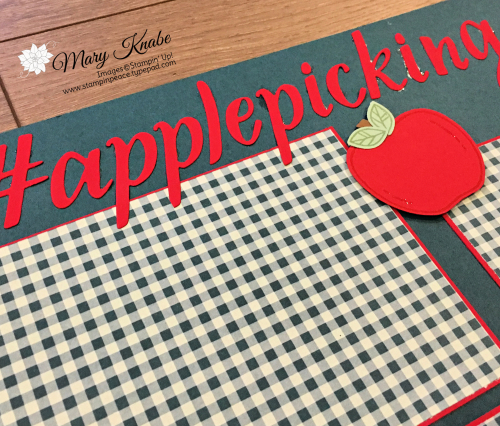 Harvest Hellos Stamp Set, Apple Builder Punch, & Come to Gather Designer Series Paper