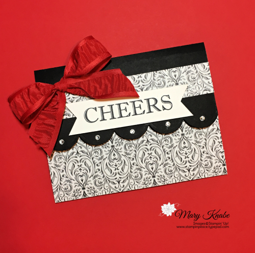 Cheers to That Stamp Set & Monster Bash Designer Series Paper by Stampin' Up!