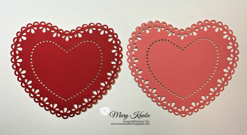 Heart Doilies by Stampin' Up!