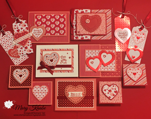 From My Heart Suite by Stampin' Up!