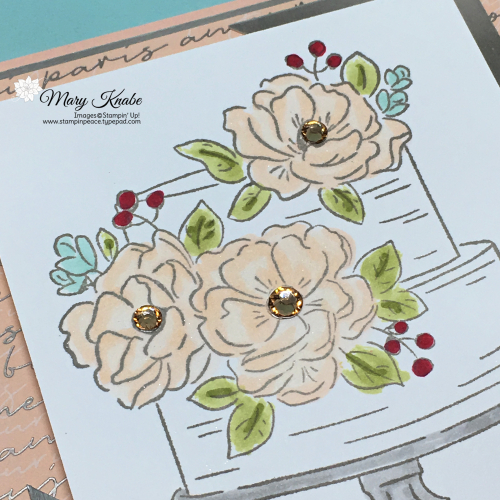 Happy Birthday to You Stamp Set & Parisian Blossoms Designer Series Paper by Stampin' Up!