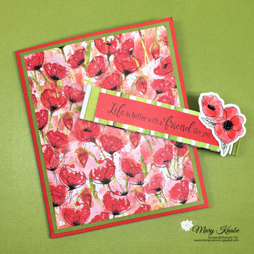 Peaceful Poppies Suite & Peaceful Moments Stamp Set by Stampin' Up!