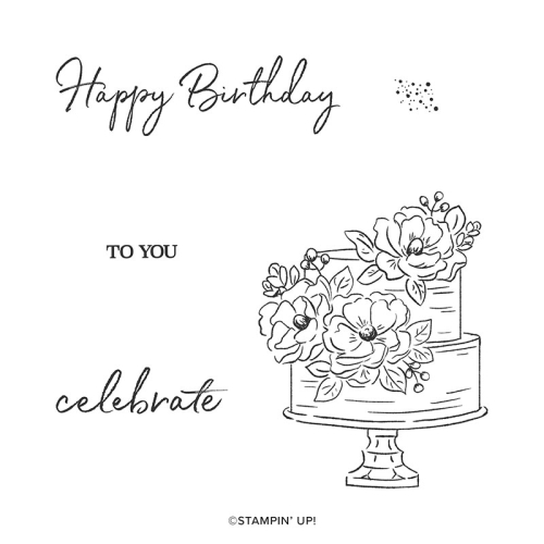 Happy Birthday to You Sale-A-Bration Stamp Set by Stampin' Up!