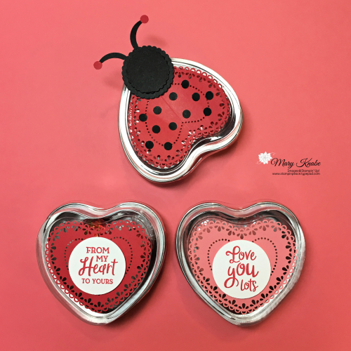 Heart Doilies & From My Heart Specialty Designer Series Paper by Stampin' Up!